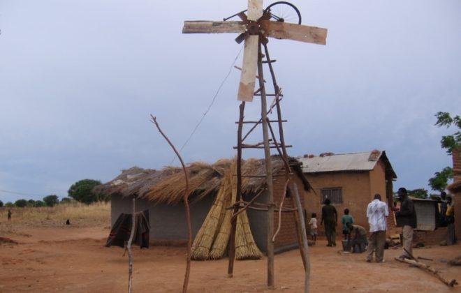 Goal Achieved: William Kamkwamba's windmill