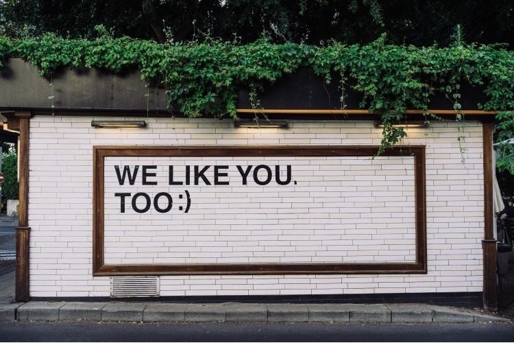 best social media campaigns ever sign we like you too