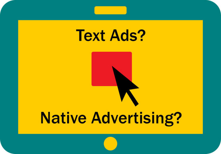 native advertising text ads