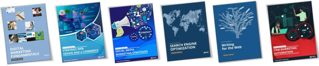Mujo's Digital Marketing Curriculum Content Series For Higher ED